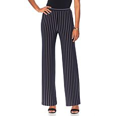 "Antthony ""Striped for Success"" Striped Flat-Front Pant"