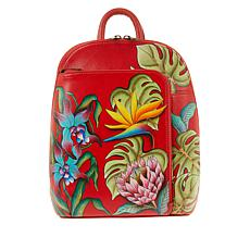 Anuschka Hand-Painted Leather Backpack
