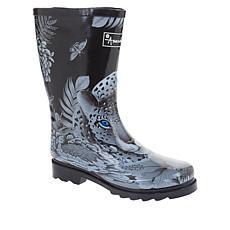 Anuschka Printed Mid-Calf Rain Boot