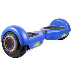 AOB Hoverboard with Bluetooth Speakers - Blue