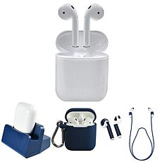 Apple AirPods 2nd Gen. Earbuds with Wired Case Accessories