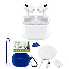 Apple AirPods Pro Earbuds w/Wireless Charging Case & Noise-Cancelling
