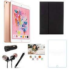 """Apple iPad 10.2"""" Gold 128GB with Voucher and Accessories"""
