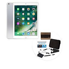 Apple iPad® 32GB Tablet w/Keyboard Case & Accessories - Silver