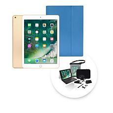 """Apple iPad® 9.7"""" 32GB Wi-Fi Tablet with Keyboard Case and Tech Support"""
