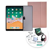 """Apple iPad Air® 10.5"""" 256GB Space Gray Tablet with Keyboard Case"""