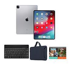 """Apple iPad Pro 11"""" 128GB Silver Bundle with Keyboard"""