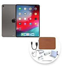 "Apple iPad Pro® 11"" 1TB Tablet with Zippered Case and Accessories"