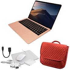 """Apple Macbook Air 13"""" Retina 128GB with Messenger Bag and Accessories"""