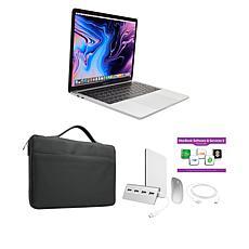 "Apple MacBook Pro 13"" 8GB RAM 256GB SSD Silver Everyday Bundle"