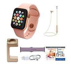 Apple Series 4 40mm Water-Resistant Sports Watch with Extra Band