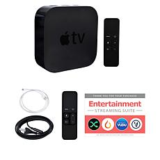 Apple TV 32GB HD with Siri Remote, Silicone Skin and Services Voucher