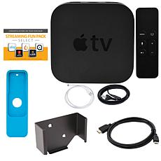 Apple TV 4K 2017 64GB with Siri Remote, Sleeve, HDMI Cable & Software