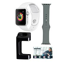 Apple Watch® Series 3 42mm with GPS and Extra Band - Silver