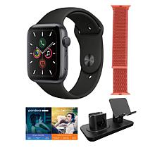 Apple Watch Series 5 40mm in Space Gray with GPS and 3-in-1 Stand