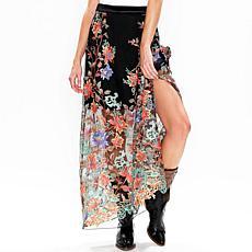 Aratta Dark Night Maxi Skirt