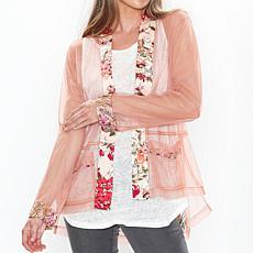 Aratta Peach Sophie Mesh Jacket