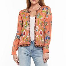 Aratta Safiya Cropped Embroidered Jacket