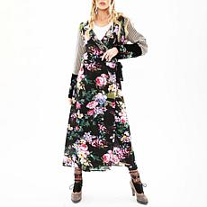 Aratta Watch Your Step Maxi Wrap Dress