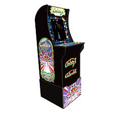 Arcade1Up Full-Size Video Game Galaga Arcade Machine w/Riser & 2 Ga