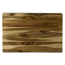 Architec® Concave Gripperwood™ Rectangle Acacia Cutting Board - 13x19""
