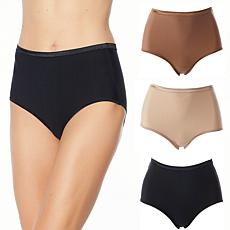 Aria Dream Collection 3pk Stretch Full Brief