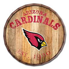 """Arizona Cardinals Established Date 24"""" Barrel Top"""