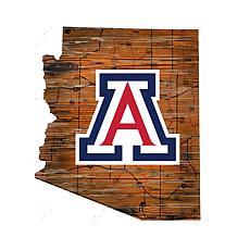 Arizona Distressed State with Logo