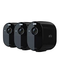 Arlo Essential Indoor/Outdoor Spotlight Camera 3-pack