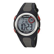 Armitron Men's Gray/Black Digital Chronograph Sport Watch