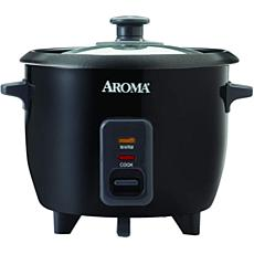Aroma ARC-363-1NGB 6-Cup Pot Style Rice Cooker