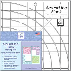 "Around The Block Ruler - 8"" x 8"""