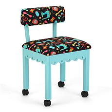 Arrow Wood Sewing and Craft Chair w/ Underseat Storage - Gingerbread