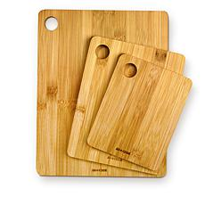 Art and Cook 3-pack Bamboo Cutting Boards