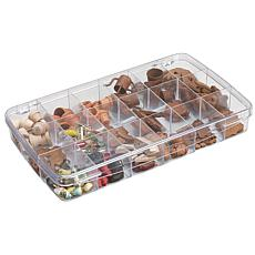 Art Bin Clear 18-Compartment Storage Box