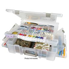Art Bin Translucent Super Satchel with Divided Top