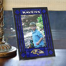 Art Glass Team Photo Frame - Baltimore Ravens - NFL