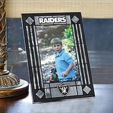 Art Glass Team Photo Frame - Oakland Raiders - NFL