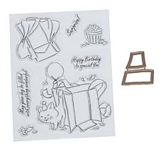 Art Impressions Mini TryFold Wonderful 9-piece Stamp and Die Set