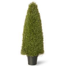 """Artificial Topiary Tree 48"""" Unpright Juniper in Pot"""