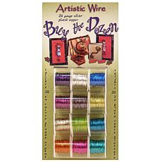 Artistic Wire 26-Gauge Silver Plated Buy-the-Dozen Wire