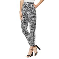 """""""As Is"""" Antthony Batik Print Tapered-Leg Pull-On Ankle Pant"""