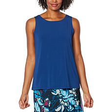 """""""As Is"""" Antthony Easy Scoop-Neck Solid Tank"""