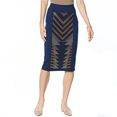 """""""As Is"""" Antthony Holiday Luxe Pencil Skirt"""