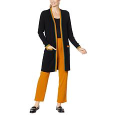 """""""As Is"""" Antthony Sweater Knit Cardigan with Pockets"""