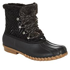 """""""As Is"""" Baretraps® Flash Lace-Up Duck Boot with Stay Dry System"""