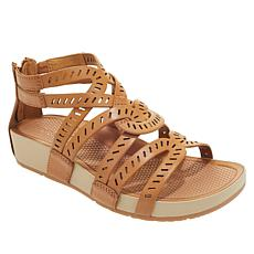 """As Is"" Baretraps® Lorra Gladiator Sandal   with Rebound Technology™"