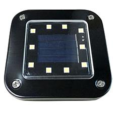 """""""As Is"""" Bell + Howell 6-pack Deluxe Square Solar Disk Lights"""