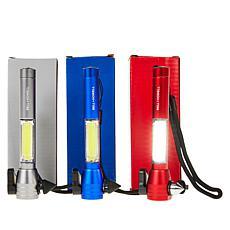 """""""As Is"""" Bell + Howell  Flashlight, Seat Belt Cutter & Window Breake..."""