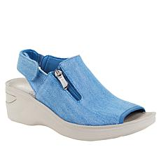 """""""As Is"""" Bzees Delicious Washable Slingback Sandal"""